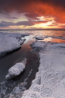 Free Ice Berg Near Body Of Water Royalty Free Stock Images - 117608529