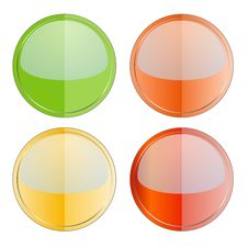 Free Glossy Buttons Stock Image - 11772981
