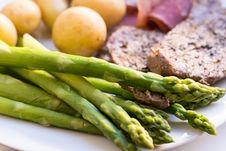 Free Vegetable, Asparagus, Vegetarian Food, Food Royalty Free Stock Images - 117728939