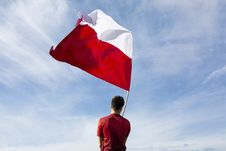 Free Sky, Cloud, Flag, Red Flag Stock Images - 117728984