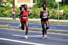 Free Marathon, Running, Person, Road Royalty Free Stock Images - 117729389
