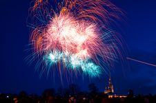Free Fireworks, Sky, Event, Atmosphere Of Earth Royalty Free Stock Photos - 117729628