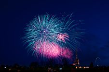 Free Fireworks, Sky, Event, Atmosphere Of Earth Royalty Free Stock Image - 117729726