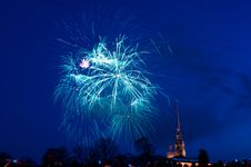 Free Fireworks, Sky, Event, Atmosphere Of Earth Royalty Free Stock Image - 117729746