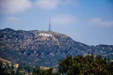 Free Hollywood Sign, Los Angeles Stock Photography - 117767782