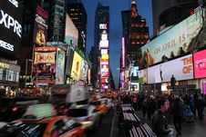 Free New York Times Square Royalty Free Stock Photo - 117767815