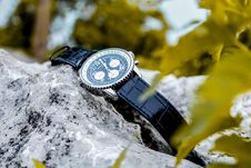 Free Selective Focus Photography Of Chronograph Watch On Rock Royalty Free Stock Image - 117767886
