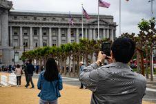 Free Man Using Smartphone To Capture Photo Stock Photo - 117767890