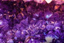 Free Closeup Photo Of Purple Gemstones Stock Photo - 117768000