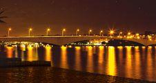 Free Reflection, Night, Body Of Water, Bridge Royalty Free Stock Image - 117788836