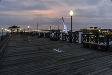Free Sky, Pier, Boardwalk, Evening Royalty Free Stock Image - 117789246