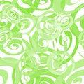 Free Seamless Green Spiral Pattern Royalty Free Stock Photos - 11781848