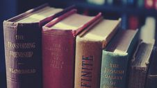 Free Closeup Photo Of Assorted-title Books Royalty Free Stock Photos - 117852808