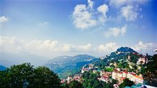 Free Scenic View Of Mountains Stock Photography - 117852812