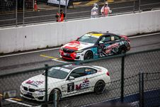 Free Car, Touring Car Racing, Auto Racing, Race Track Stock Photo - 117884570