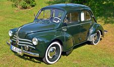Free Car, Motor Vehicle, Vehicle, Renault 4cv Stock Images - 117885474