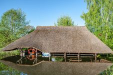 Free Thatching, Tree, Roof, Cottage Stock Images - 117885844