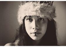 Free Photo Of Woman Wearing Fuzzy Headband Royalty Free Stock Photo - 117917245