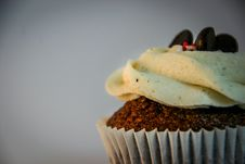 Free Chocolate Cupcake Royalty Free Stock Photography - 117917257