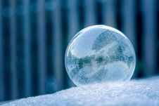 Free Glass Ball On White Surface Stock Photography - 117917402