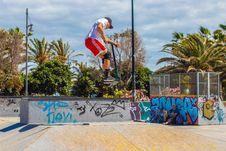 Free Man On Skateboard Royalty Free Stock Image - 117989126