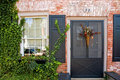 Free Front Door Of Brick House Royalty Free Stock Images - 1183739