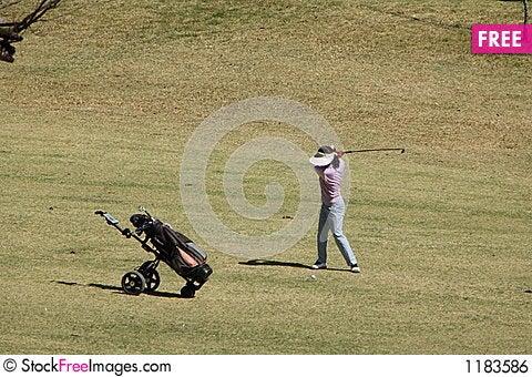Free Golf Swing Royalty Free Stock Image - 1183586