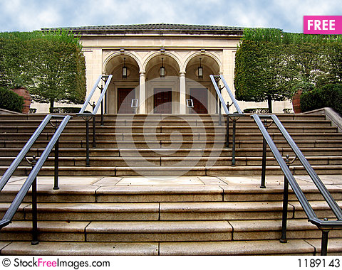 Free Arched Doorways And Stairs 2 Stock Photos - 1189143