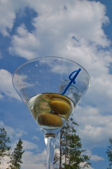 Martini Against The Sky