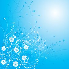 Free Floral Background, Vector Stock Photo - 1181120