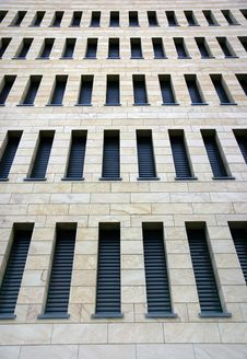 Business Building Facade Royalty Free Stock Image