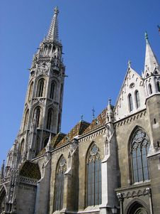 Free Matthias Church Stock Photo - 1182820