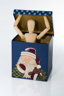 Free Gift Box Surprise Stock Photography - 1183162