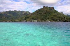 Free Turquoise Blue Lagoon Royalty Free Stock Image - 1183386