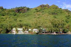 Free Water Front Resort In Moorea Stock Photo - 1183430