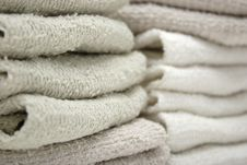 Free Face Cloths Stacked Stock Photos - 1183473