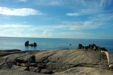 Free Rocky Coast In Koh Samui. Royalty Free Stock Image - 1184106