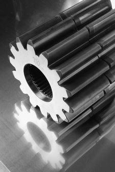 Free Gears In Monochrome Stock Photo - 1184230