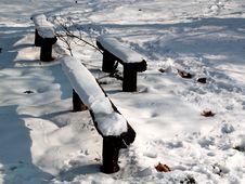 Free Three Benches Stock Photo - 1185830