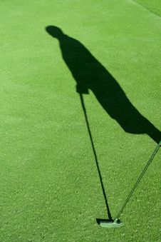 Free Golf Shadow Stock Images - 1186974