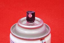 Free Pink Spray Paint Can Stock Photography - 1188002