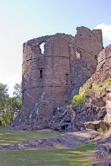 Free Ladies Tower At Goodrich Castle Royalty Free Stock Photography - 1188357