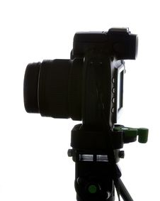 Free Silhouette Of Camera 1 Royalty Free Stock Photo - 1189605