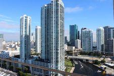 Free Metropolitan Area, Skyscraper, Urban Area, City Royalty Free Stock Images - 118154369