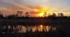 Free Sky, Reflection, Wetland, Sunset Stock Photography - 118155682