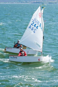 Free Dinghy Sailing, Sail, Water Transportation, Sailboat Royalty Free Stock Photos - 118155908