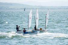Free Dinghy Sailing, Water Transportation, Sail, Sailboat Stock Photos - 118155953