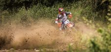 Free Person Riding Motocross Dirt Bike Stock Photo - 118221720