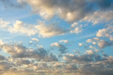 Free Clouds In The Sunset Sky Stock Photo - 118237170