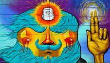 Free Art, Modern Art, Psychedelic Art, Illustration Royalty Free Stock Images - 118241689